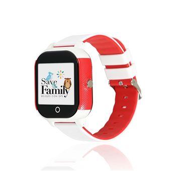 Smartwatch para niños con GPS SaveFamily, SaveJunior Blanco