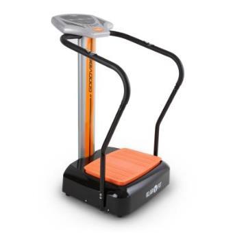 Klarfit Goodvibe plataforma oscilante entrenador digital pulsómetro ruedas