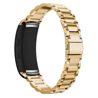 Pulsera Acero Stainless Lux + Herramienta Samsung Gear Fit2 (R360) Gold