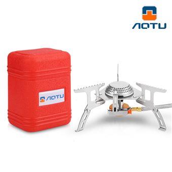 Quemador estufa AOTU - AT6303  split tipo gas estufa al aire libre