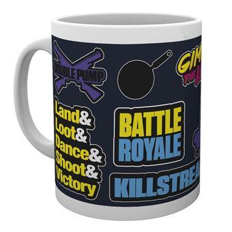 Taza Battle Royale Infographic