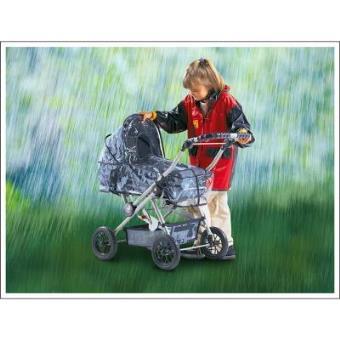 Bayer Chic 2000 862 01 Protector de lluvia para cochecito de muñecas
