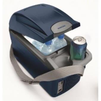 Nevera eléctrica para coche, Mobicool T08 DC Bordbar, Azul, 8 litros