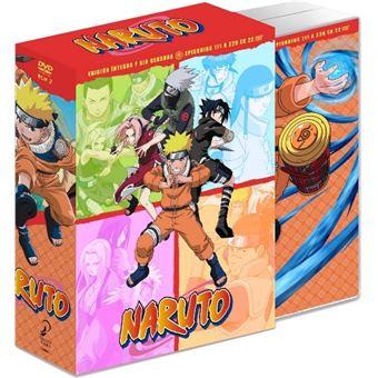 Naruto Box 2 Ep 111 a 220 - DVD