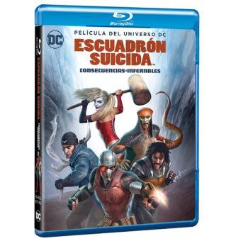 Escuadrón Suicida: Consecuencias Infernales - Blu-Ray