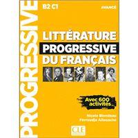 Littérature progressive du français - Niveau avancé B2-C1