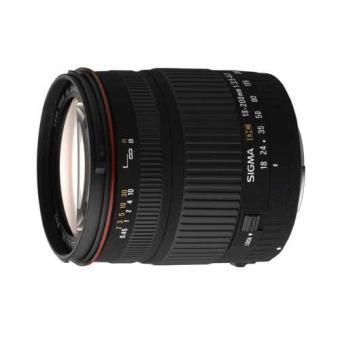 Sigma 18-200 DC f/ 3.5-6.3 Estabilizador Óptico para Canon