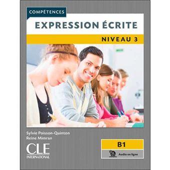 Compétences - Expression écrite niveau 3 - B1
