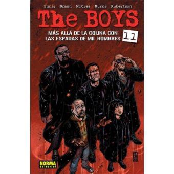 The boys 11 Mas alla de la colina con las espadas de mil hombres