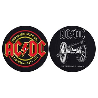 Deslizadores para tocadiscos For Those About to Rock & High Voltage AC/DC