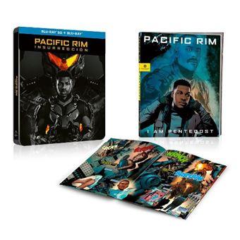 Pacific Rim: Insurreccion - Steelbook Blu-Ray + 3D + Cómic
