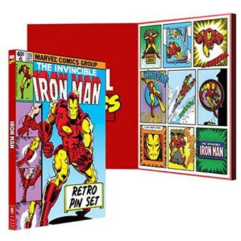 Pack 9 pines Marvel – Iron Man retro