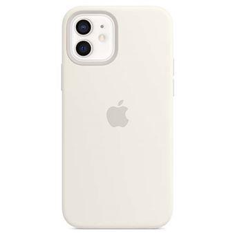 Funda de silicona Apple con MagSafe Blanco para iPhone 12/12 Pro