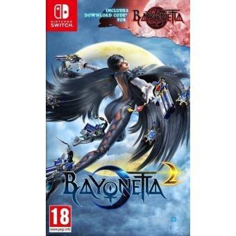 Bayonetta 1 Codigo De Descarga Bayonetta 2 Nintendo Switch Para