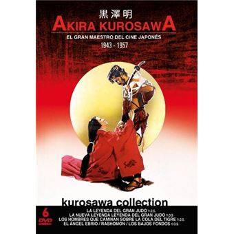 Pack Akira Kurosawa - 6 películas V.O.S. - DVD