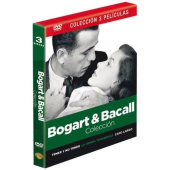 Pack: Humphrey Bogart + Lauren Bacall: Cayo Largo, Tener y no tener, La senda tenebrosa - DVD