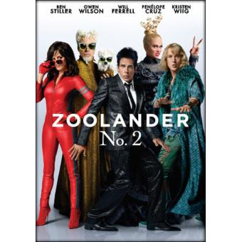 Zoolander No. 2 - DVD