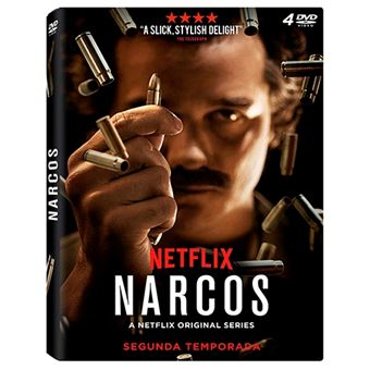 Narcos  Temporada 2 - DVD