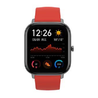 Smartwatch Amazfit GTS Rojo