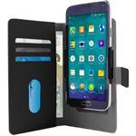Funda Puro Wallet XXL Negro para smartphone 6''