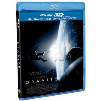 Gravity - Blu-Ray + 3D