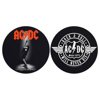 Deslizadores para tocadiscos Let There Be Rock & Rock and Roll AC/DC