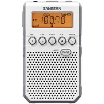 Radio Portátil Sangean DT-800 Blanco