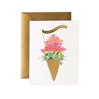 Postal Pepa Paper Happy Birthday Ice cream