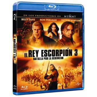 El Rey Escorpión 3: Batalla por la redención - Blu-Ray