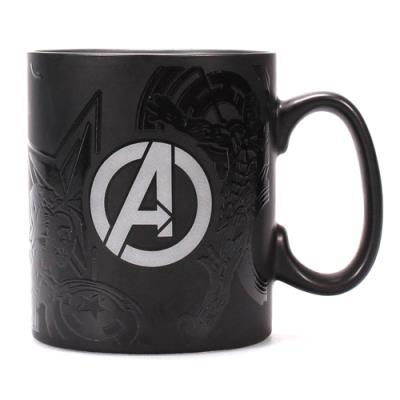 Taza termocromática Marvel Los Vengadores -