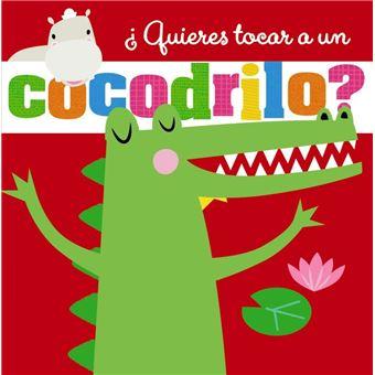 ¿Quieres tocar a un cocodrilo?