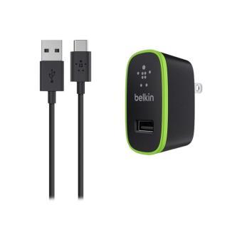 Cargador Belkin con micro USB-C Negro