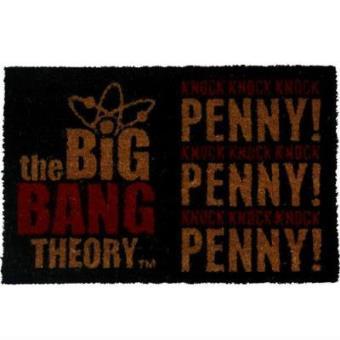Felpudo The Big Bang Theory Knock Knock Penny!
