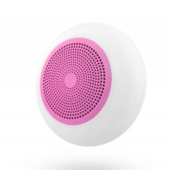 Altavoz Bluetooth TNB Lumi Blanco y Rosa