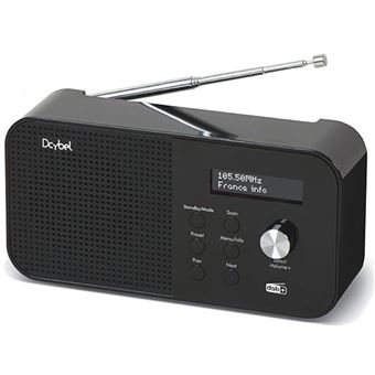 Radio portátil Dcybel R300 DAB+