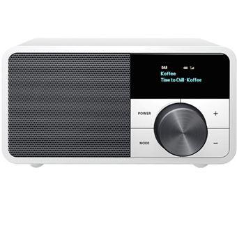 Radio Bluetooth Sangean DDR-7 Plata