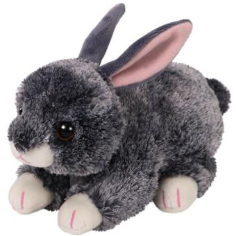 Peluche Beanie Boos Smokey Conejo gris