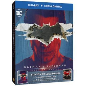 Batman v Superman - Steelbook Blu-Ray - Exclusiva Fnac