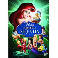 El origen de la sirenita (La sirenita 3) - DVD