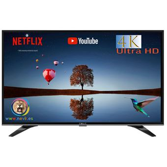 TV LED 43'' Nevir NVR-9000-434K2S-SM 4K UHD Smart TV
