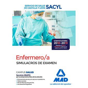 Enfermero/a del Servicio de Salud de Castilla y León - Simulacros de examen
