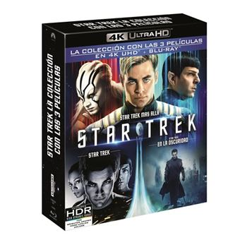 Pack Star Trek - UHD + Blu-Ray