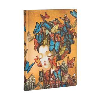 Libreta Paperblanks midi madama butterfly liso