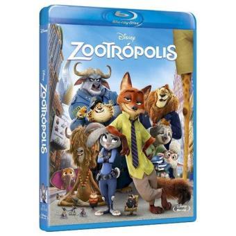 Zootrópolis - Blu-Ray