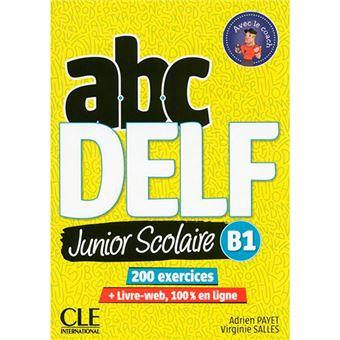 ABC Delf Junior Scolaire B1 + CD