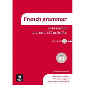 French grammar a1 + CD