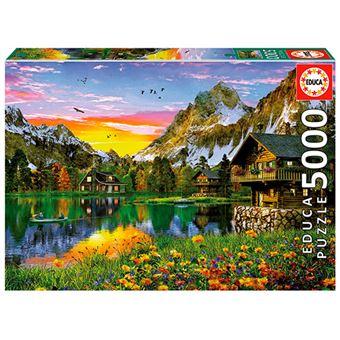 Puzzle Lago Alpino Educa