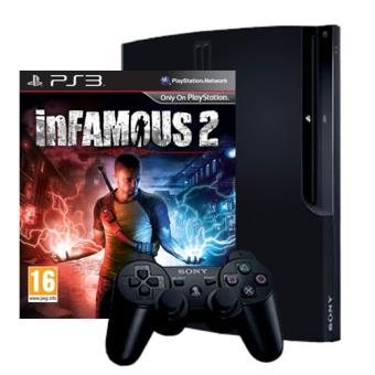Pack PS3 320 GB + juego Infamous 2