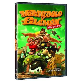 Mortadelo y Filemón contra Jimmy el Cachondo - DVD