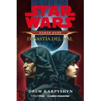 Star Wars Darth Bane Novela: Dinastía del mal (Rústica)